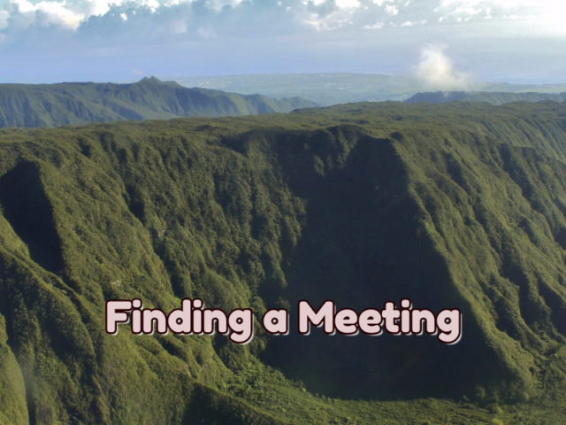 Finding A Meeting