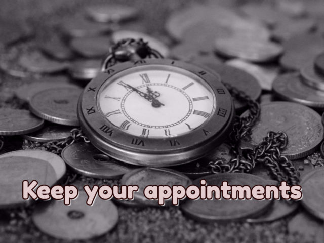 Keep Your Appointments