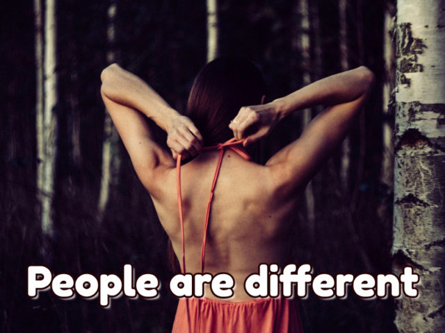people different