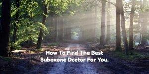 Who can prescribe Suboxone?