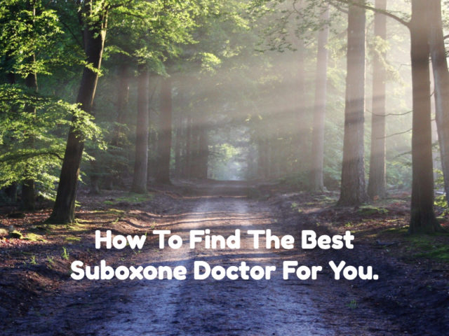 Find Bes Suboxone Doctor
