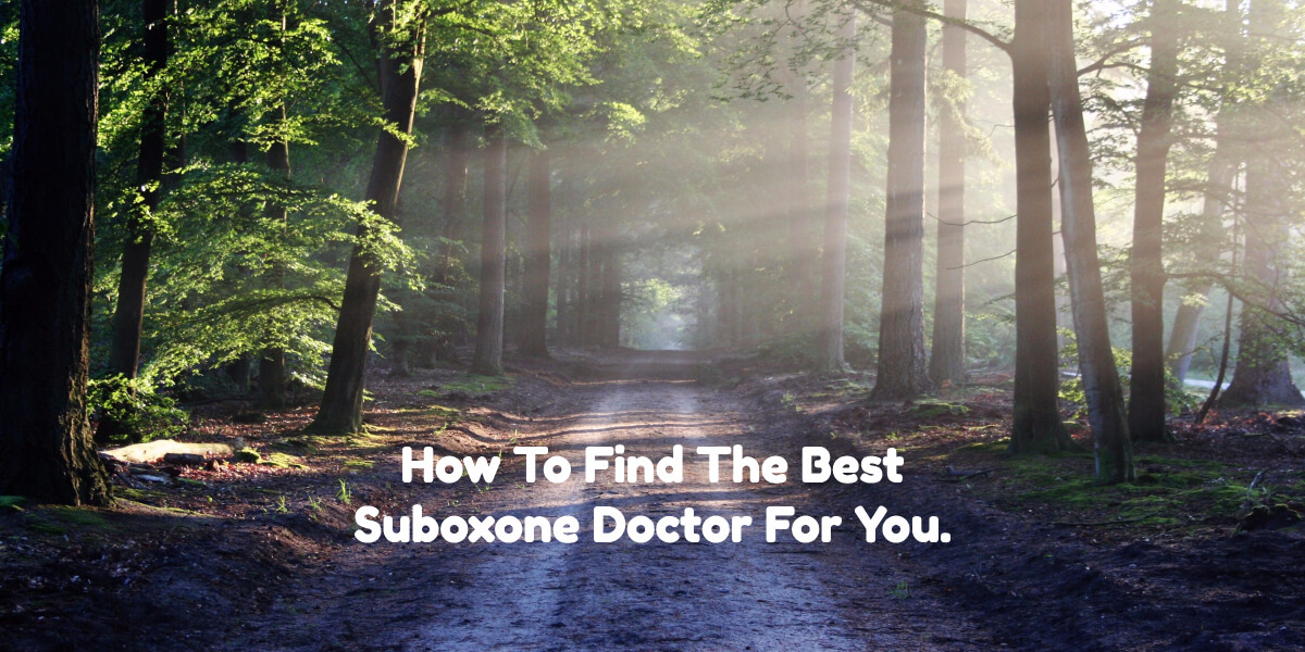 Who can prescribe Suboxone?