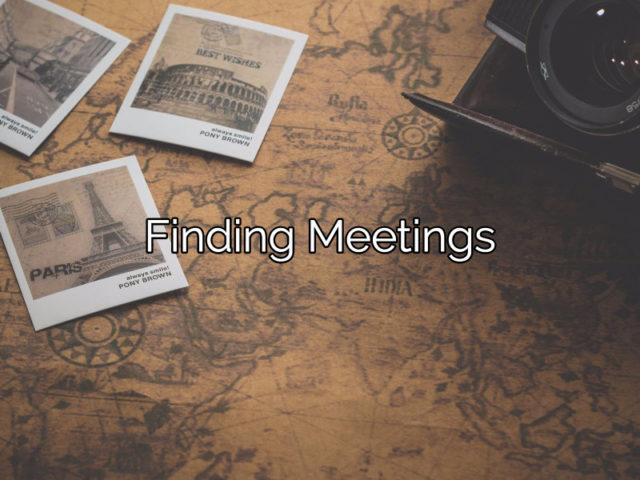 FindingMeetings