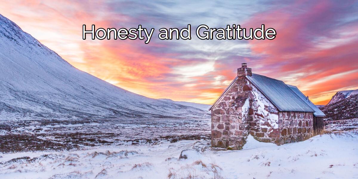 Honesty And Gratitude