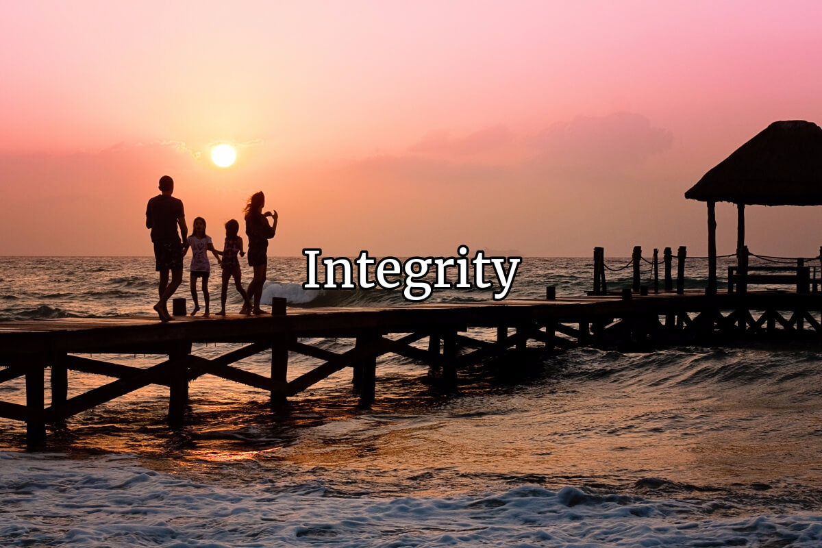 Integrity: Seeing The Whole Person