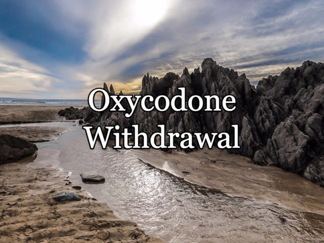 oxycodone withdrawal
